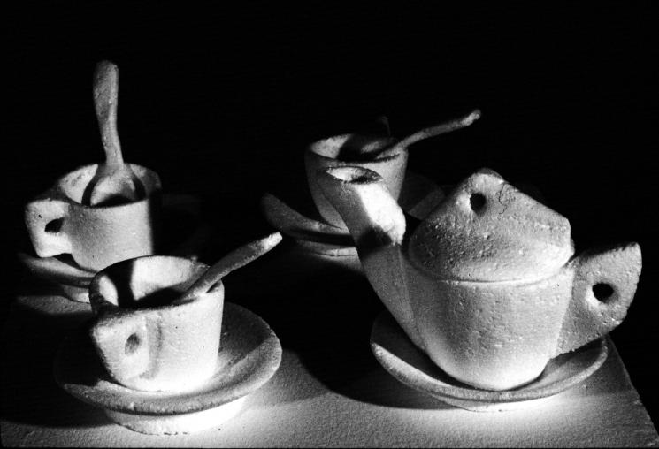 Styrofoam Tea Set