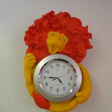 Grace Hill Project - Lion Clock