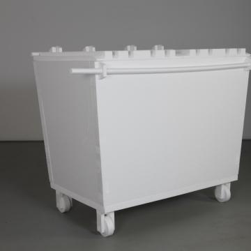 Styrofoam Dumpster